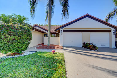 Boynton Beach Single Family Home For Sale: 8298 Mooring Circle
