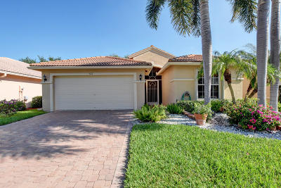 Boynton Beach Single Family Home Contingent: 5217 Palazzo Place