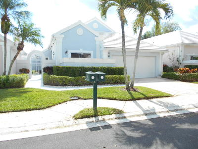 Palm Beach Gardens Single Family Home For Sale: 13 Elgin Lane