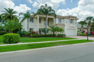 Lake Worth Single Family Home For Sale: 11913 Osprey Point Circle