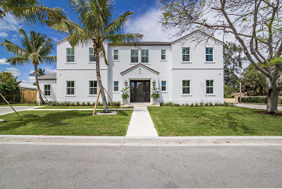 West Palm Beach Single Family Home For Sale: 201 Miramar Way