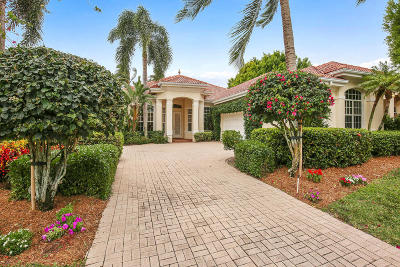 Palm Beach Gardens Single Family Home For Sale: 132 Pembroke Drive