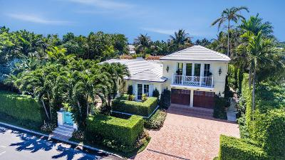Palm Beach Single Family Home For Sale: 232 Angler Avenue