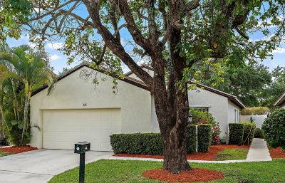 Palm Beach Gardens Single Family Home For Sale: 64 Ironwood Way