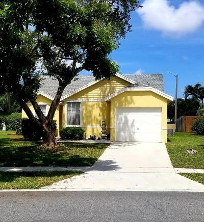 Boynton Beach Single Family Home For Sale: 3 Misty Laurel Circle