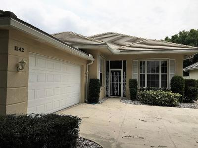 Port Saint Lucie Single Family Home For Sale: 1542 NW Amherst Drive