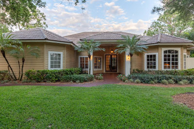 Tequesta Single Family Home For Sale: 18299 SE Ridgeview Drive