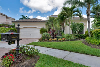 Palm Beach Gardens Single Family Home Contingent: 408 Via Placita