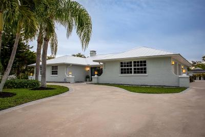 Stuart Single Family Home For Sale: 5354 SE Horseshoe Point Road
