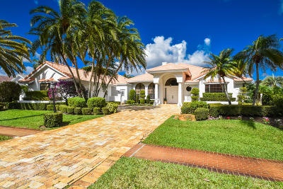 Boca Raton Single Family Home For Sale: 17192 Northway Circle