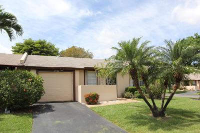 Delray Beach Single Family Home Contingent