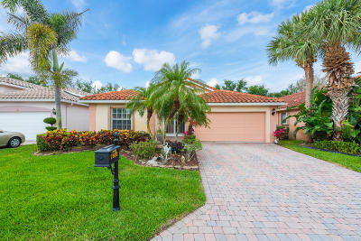 Boynton Beach Single Family Home For Sale: 7692 Caprio Drive