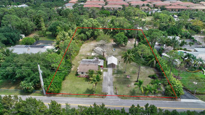 Lake Worth Single Family Home For Sale: 5830 Cadillac Drive