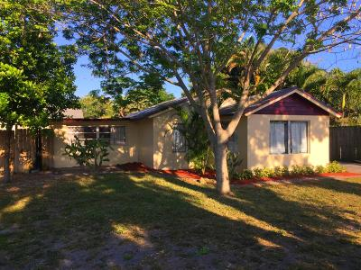 Palm Springs Single Family Home For Sale: 112 Pleasant Place