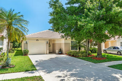 Lake Worth Single Family Home Contingent: 6670 Spring Garden Run