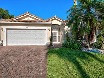 Boynton Beach Single Family Home For Sale: 9851 Lemonwood Drive
