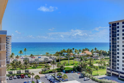 Highland Beach Condo For Sale: 3300 S Ocean Boulevard #1019-C