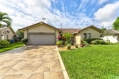 Coral Springs Single Family Home For Sale: 7006 NW 38 Street