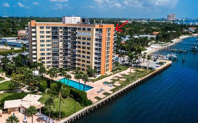 West Palm Beach Condo For Sale: 2800 Flagler Drive #1006