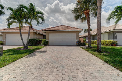 Delray Beach Single Family Home For Sale: 5501 Grande Palm Circle
