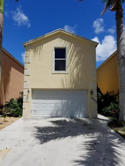 Lake Worth Single Family Home For Sale: 4685 Clemens Street
