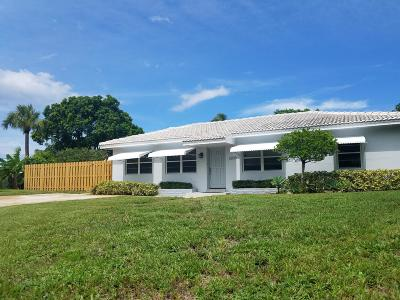 Delray Beach Single Family Home For Sale: 2209 East Pineridge Court