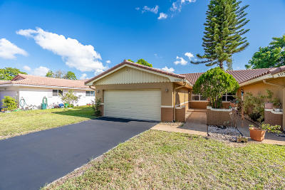 Coral Springs Single Family Home For Sale: 10362 NW 31st Street