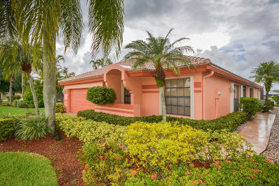 Boca Raton Single Family Home For Sale: 11073 Clover Leaf Circle