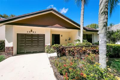 Boynton Beach Single Family Home For Sale: 4892 Boxwood Circle