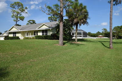Loxahatchee Groves Single Family Home For Sale: 3000 A Road