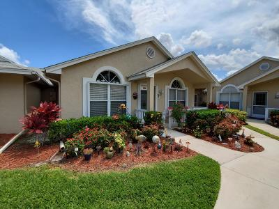 Saint Lucie West Single Family Home Contingent: 1200 NW Lombardy Drive