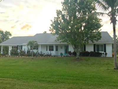 West Palm Beach Single Family Home For Sale: 16590 79th Terrace