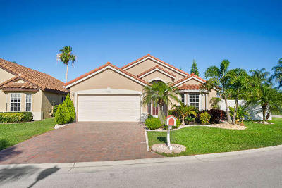 Delray Beach Single Family Home For Sale: 7555 Stirling Bridge Boulevard