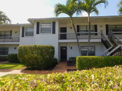 Boynton Beach Condo For Sale: 40 Stratford Lane #E
