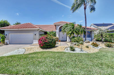 Boynton Beach Single Family Home For Sale: 7695 Bridlington Drive