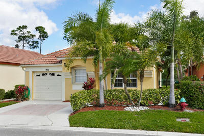 Palm Beach Gardens Single Family Home For Sale: 2076 Bonisle Circle