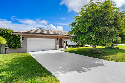 Singer Island Single Family Home For Sale: 1100 Coral Way