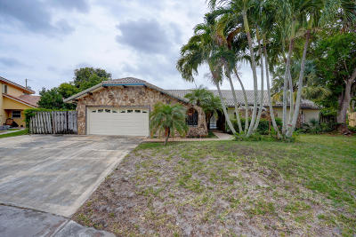 Boca Raton Single Family Home For Sale: 1300 SW 2nd Street