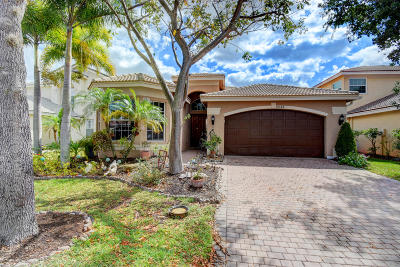 Boynton Beach Single Family Home For Sale: 10568 Walnut Valley Drive