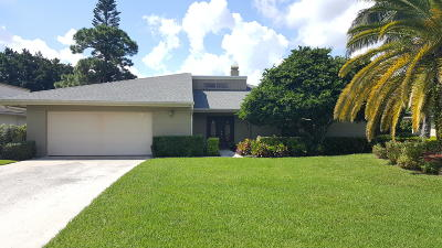 Palm Beach Gardens Single Family Home For Sale: 6482 Eastpointe Pines Street