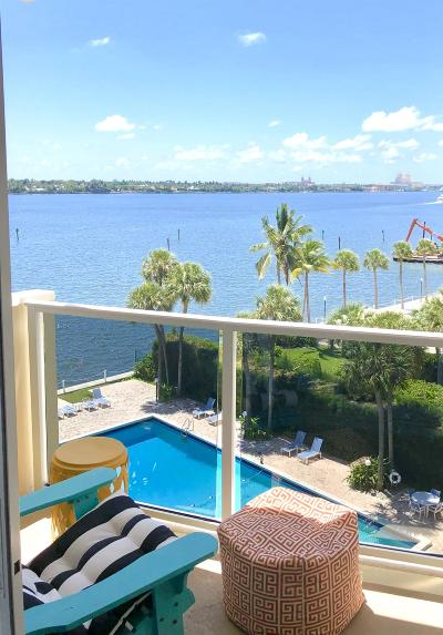 West Palm Beach Condo For Sale: 2800 Flagler Drive #603