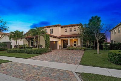 Jupiter Single Family Home For Sale: 146 Crab Cay Way