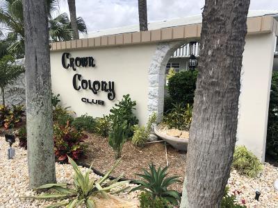 Ocean Ridge Condo Contingent: 5510 Ocean Boulevard #110