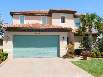 Port Saint Lucie, Saint Lucie West Single Family Home For Sale: 11340 SW Reston Court
