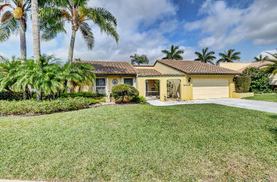 Boynton Beach Single Family Home Contingent: 2645 SW 23rd Cranbrook Court