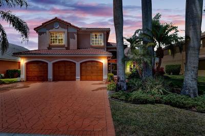 Boca Raton Single Family Home For Sale: 19417 Black Olive Lane