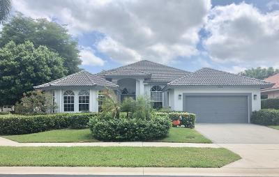 Boca Raton Single Family Home For Sale: 7634 La Corniche Circle