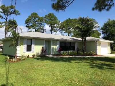 Single Family Home For Sale: 5701 Raintree Trail