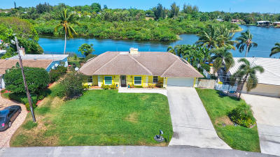 Lake Worth Single Family Home For Sale: 6682 Paul Mar Drive