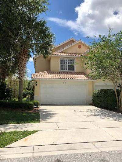Greenacres Townhouse For Sale: 1116 Pinewood Lake Court